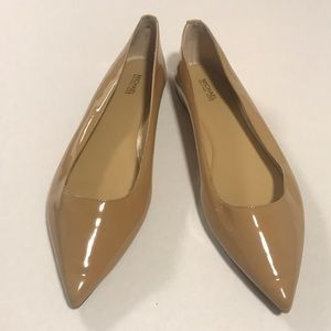 Michael Kors Patent Leather Pointy Toe Flats